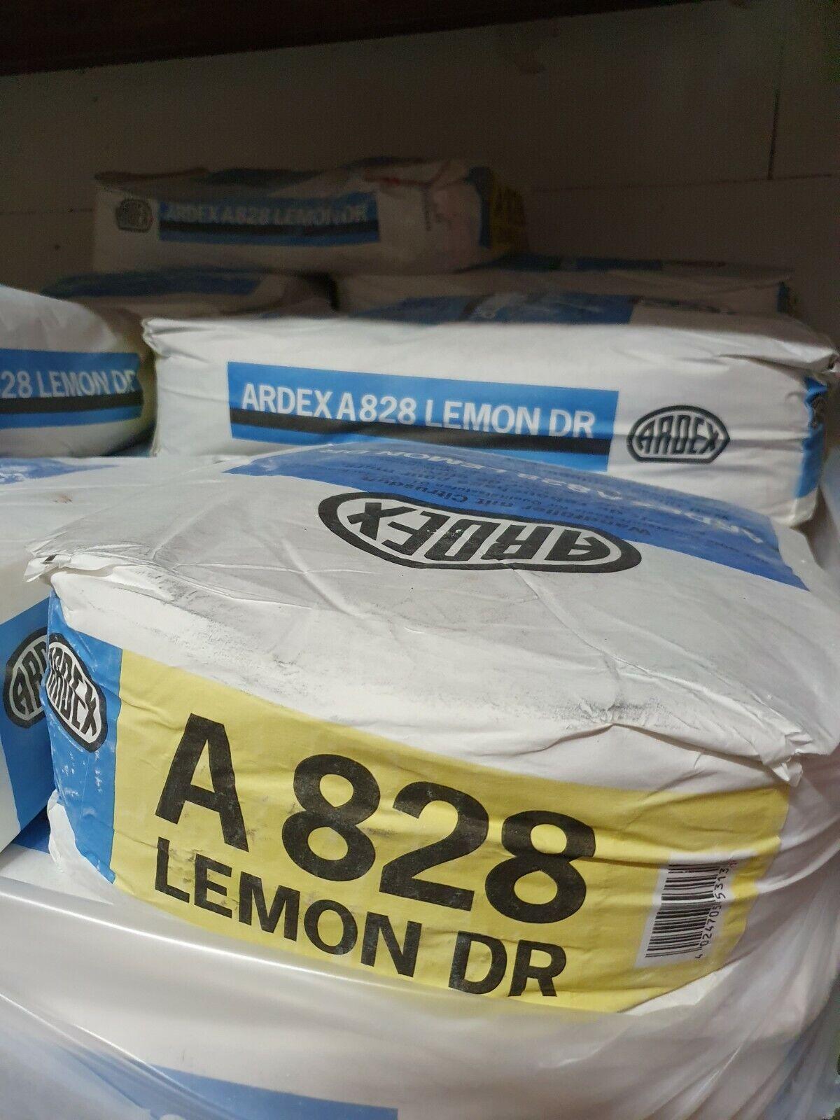 Ardex A828 Lemon Finishspachtel Glättpachtel Deckenspachtel Wandspachtel 25 kg