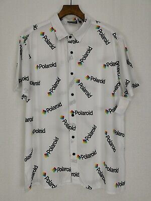 BNWT | Polaroid | Button Up Short Sleeve Retro Shirt | Size...