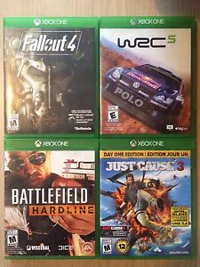 ***XBOX ONE GAMES***