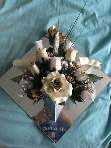 Flower/Mirror Wall Decoration