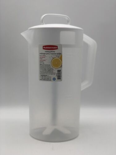 2 Quart Servin Saver Mixing Pitcher in White