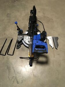 "Mastercraft  10"" sliding Compound mitre saw with laser"