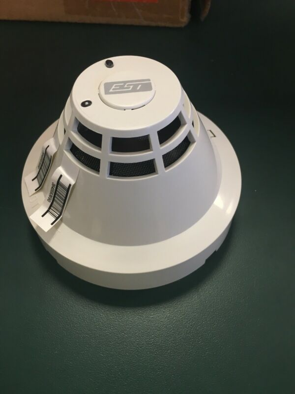 EDWARDS EST SIGA-PS Smoke Detector Head PLUS SIGA-SB Smoke Detector Base