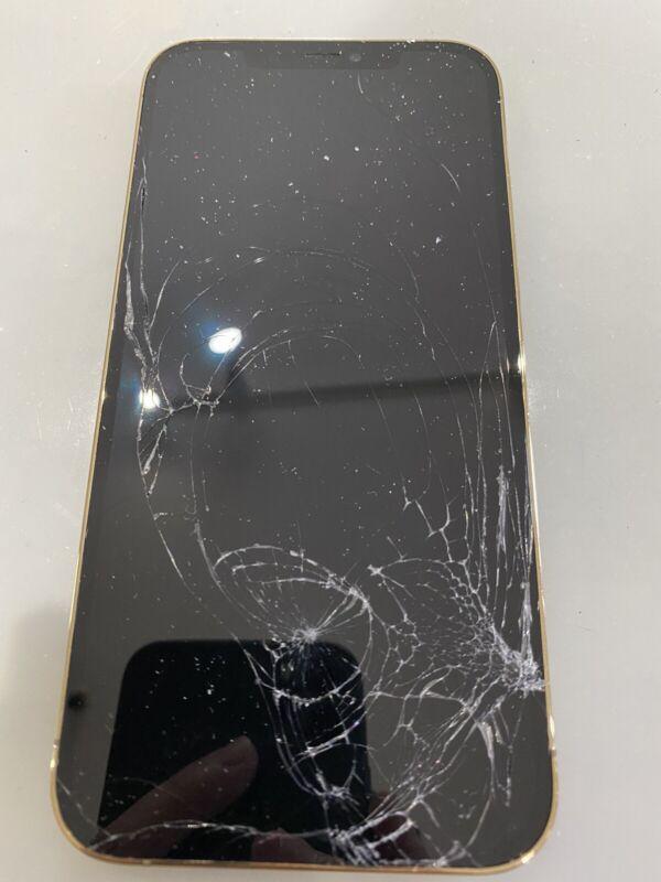 iPhone 12/12Pro/12pro Max Cracked Glass Screen Repair Refurbish Service OEM