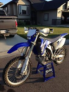 2009 YAMAHA WR250F. LOW HRS, ONLY 723 KMS!