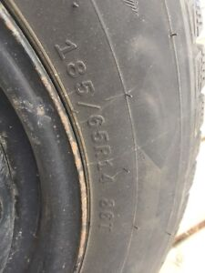 Winter tires and rims size 185 65R14