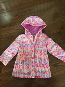 Girls 3T Oshkosh rain coat