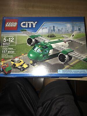 Lego City Airport Cargo Plane #60101 NIB Sealed Retired