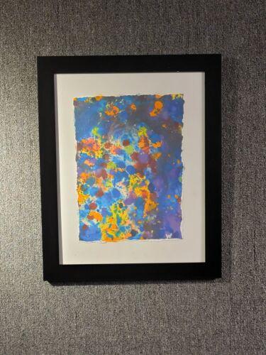 Original Reef Art Watercolor Signed Wyland In Pollack Style Hawaii Ocean Framed - $6,500.00