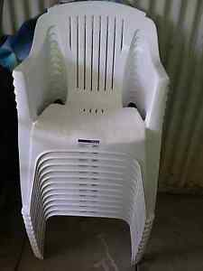 PLASTIC OUTDOOR CHAIRS MARQUEE Girrawheen Wanneroo Area Preview