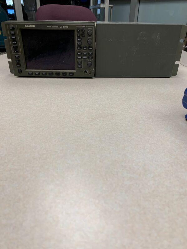 Leader LV-5800 Multi Monitor
