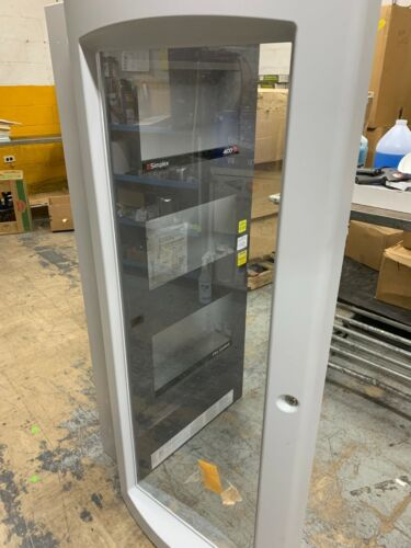 Simplex 2975-9446 4100ES 3 Bay Fire Control & Detection Cabinet Glass Door