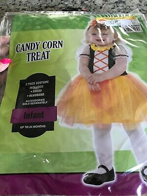 Candy Corn Costumes (Candy Corn Treat Infant Costume Up To 24)