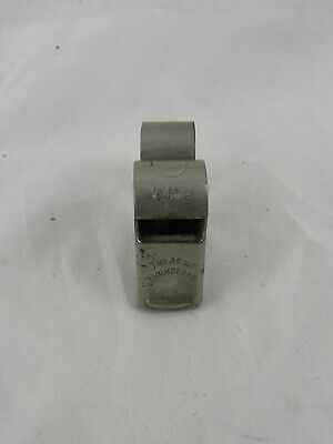 Vintage Acme Thunderer Referee Police Whistle With Finger Grip Made in England