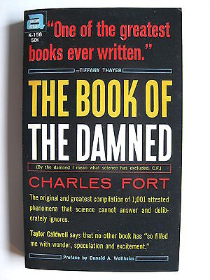 Charles Fort   The Book of the Damned   pb   early Ace edition