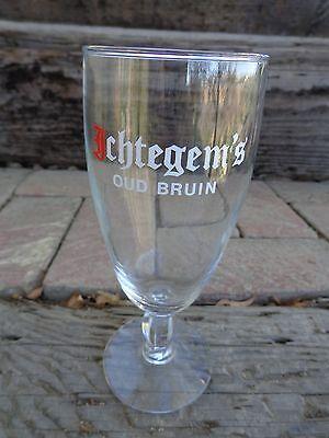 Sour Ale (Stem BEER GLASS: Brouwerij Strubbe Ichtegem's Oud Bruin Sour Brown Ale ~)