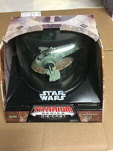 Star Wars titanium slave 1 toy
