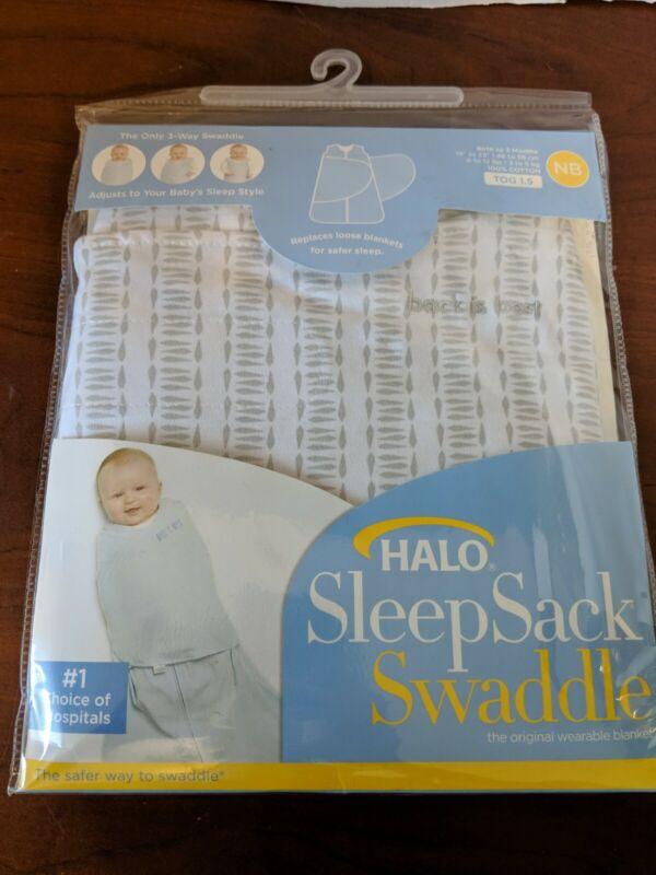 Halo Innovations Sleepsack Swaddle Wrap Twine Print Newborn - First 3 Months New