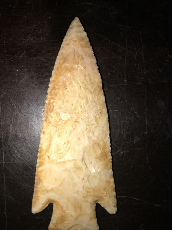 "Authentic Arrowhead Artifact,  Cumberland TN, 4 2/3"""