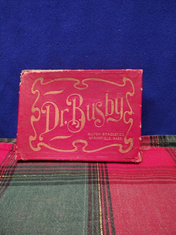 1905 Vintage Milton Bradley DR.  Busby Game