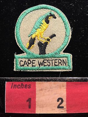 Vintage CAPE WESTERN South Africa Patch 67E1