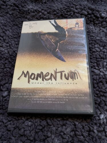 Momentum Under The Influence DVD VIDEO DOCUMENTARY Top Surfers, Surfing Action  - $9.00