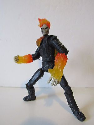 "Marvel Ghostrider Movie Series Flame Fist Ghost Rider 6"" Inch Action Figure"