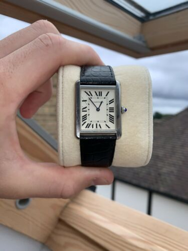 cartier tank solo watch - watch picture 1