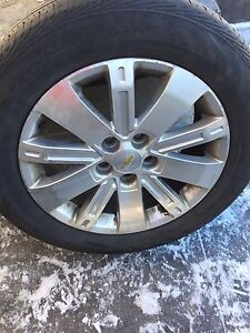 "18"" Aluminum Rims 5x120 with All Season Tires London Ontario image 1"