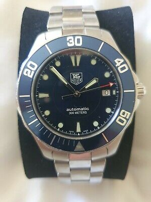 TAG Heuer Automatic sapphire crystal 300 metres Watch WAB2011