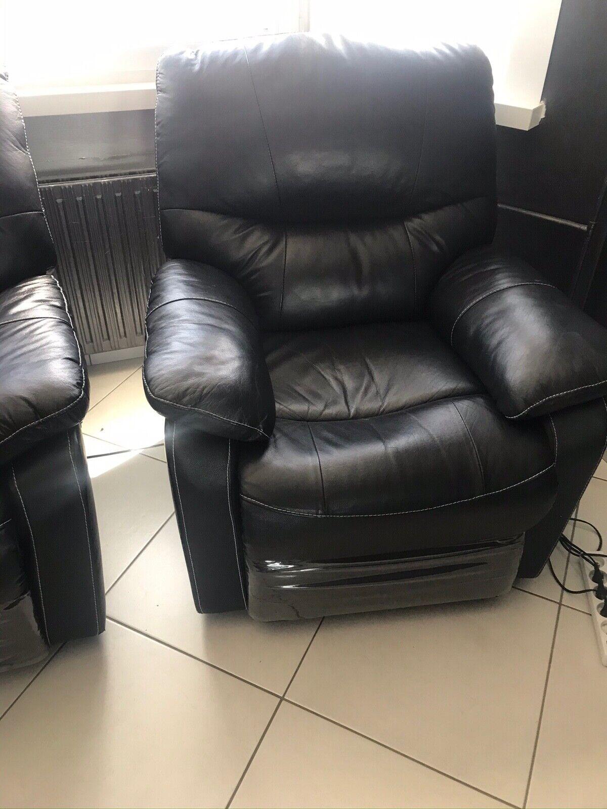 3 fauteuils canapés électriques