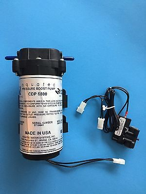 AQUATEC 6800 SERIES RO BOOSTER PUMP 24VAC 6840-2J03-B221 + 1/4