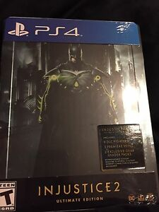 Injustice 2 ultimate ps4