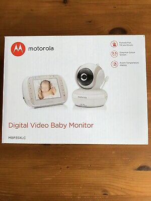 Motorola Digital Baby Monitor MBP 35XLC Retails for £145 NEW
