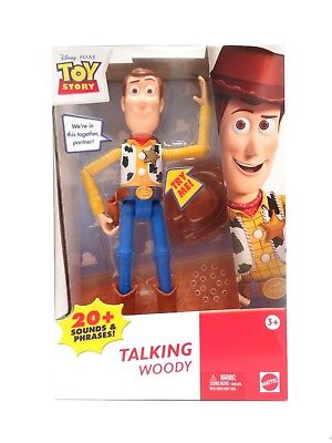 Toy Story WOODY TALKING Action Figure Boxed Set