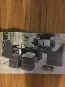 Harvey Norman 8  piece Malta outdoor setting Rivervale Belmont Area Preview