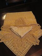 Vintage Crochet Doilies Lot