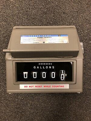 Veeder Root R789001-008 Meter Register With Ticket Printer