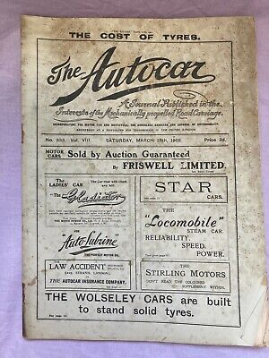 THE AUTOCAR MARCH 15th 1902