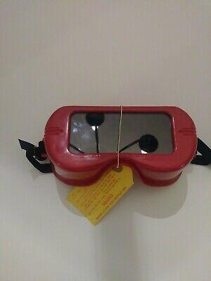 Vintage Unigoggle Jackson Products Belmont Mi. Industrial Welding Goggles Steamp