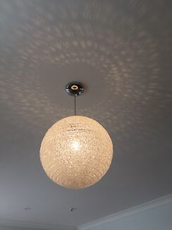 Light fittings ceiling lights gumtree australia knox area light fittings x 2 aloadofball Gallery