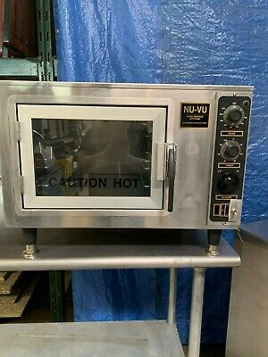 Used Nu-vu Xo-1 Half Size Electric Countertop Convection Oven