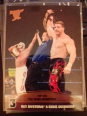 2013 Topps Best of WWE Top Ten Tag Team Champions #3 Rey Mysterio Eddie