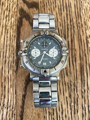 Vintage Nautica Mens Watch silver