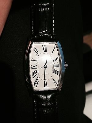 Eberhard & Co. Hyperbole Tonneau #41011CP automatic black wristwatch for sale