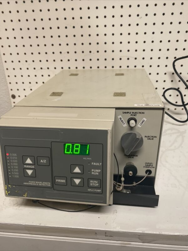 Fixed wavelength absorbance detector HPLC PUMP Doesn't Come With Power Cord