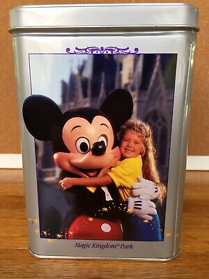 Vintage Walt Disney 25 Anniversary Nestle Toll House tin, 1971-1996