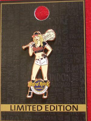 Cleveland Indians Rock (HRC Hard Rock Northfield Park Rocksino Baseball Girl 13 Cleveland Indians LE200)