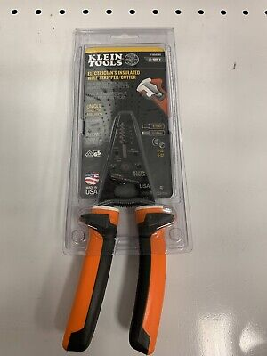 Klein Tools Electricians Insulated Wire Strippercutter 11054eins Read Desc