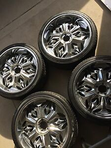 "22"" LEXANI Rims & Tires"